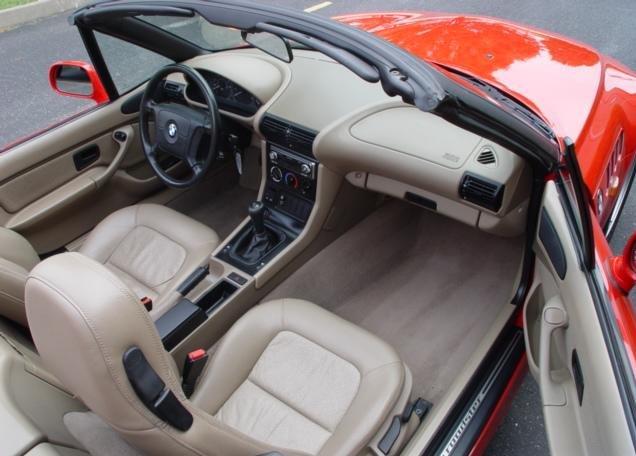 (1996 BMW Z3 Roadster)
